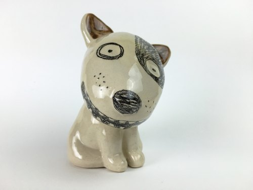 Nice Little Clay hand decoration _ dog