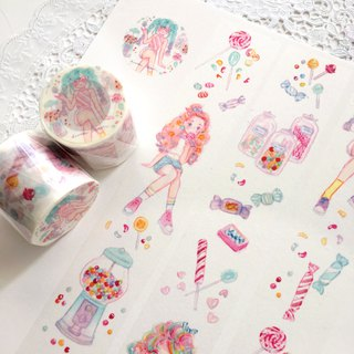 Rainbow Candy Masking-tape