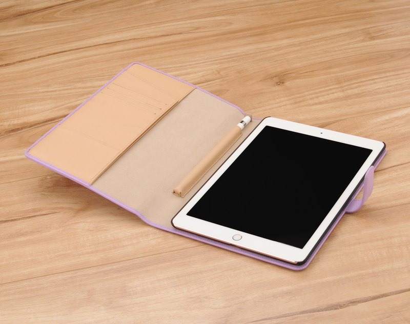 STORYLEATHER custom-made iPad 11 吋 series of notebook PDA-style hard shell leather case