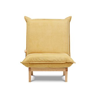 AJ2 │ Shallow Mountain│ Mustard Yellow│ Sofa and Room Chair