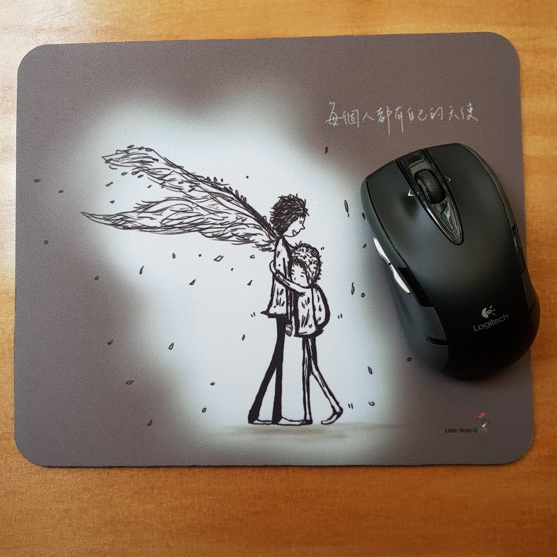Mouse pad-everyone has their own angel