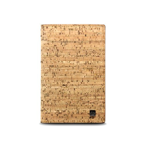 CORCO Classic Cork Passport Clip - Original Brown