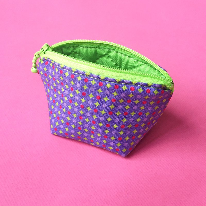 Green stars coin purse