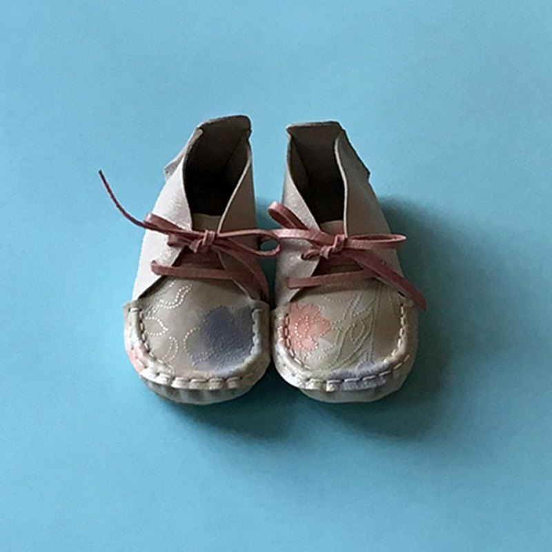 Hand-made toddler shoes