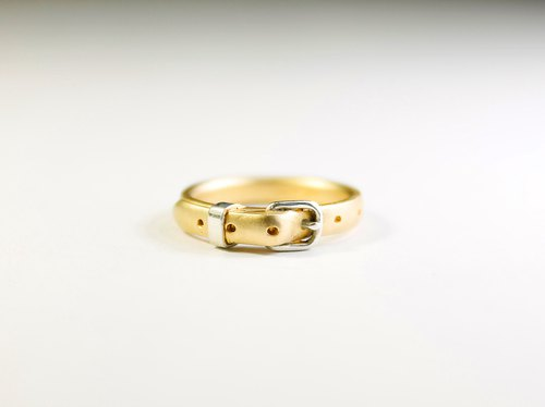 Belt Ring cute GP 3mm