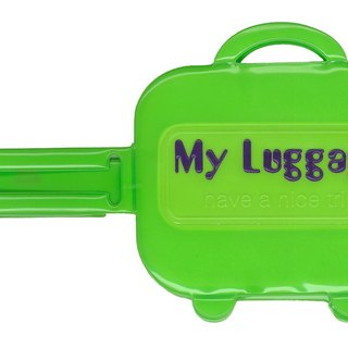 Alfalfa My luggage Luggage tag(Green)