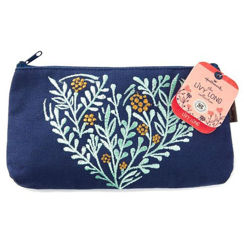 Embroidery Flower Cloth Clutch Handbag[Hallmark-Livy Long Series Designer Tote]