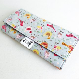 Outing portable diaper pad - Classic color bird