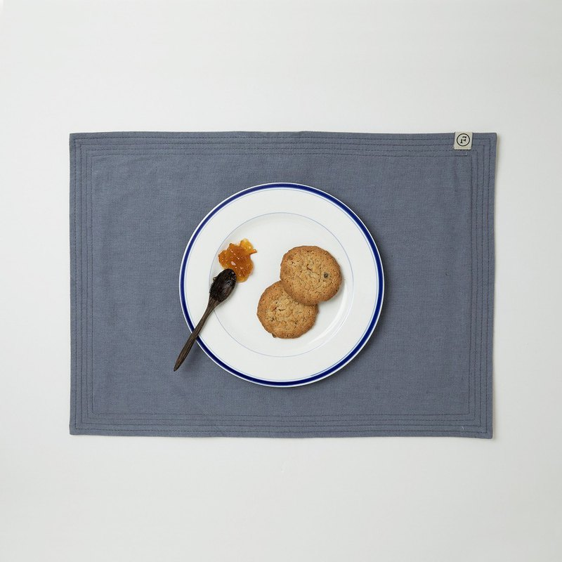 PLACE MAT-blueberry & persimmon-