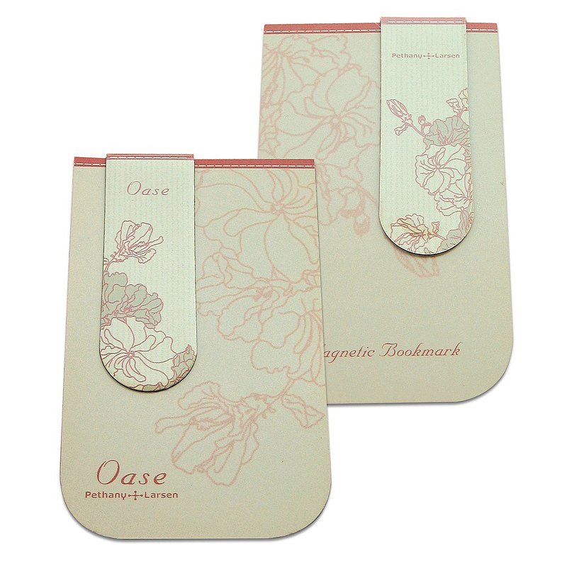 【Magnetic bookmark】 flower oasis