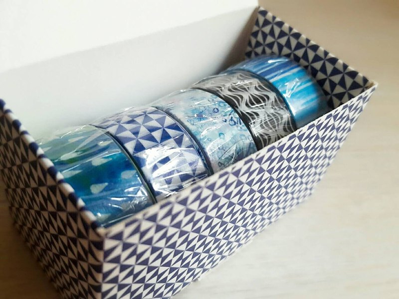 【Spring Gift Box】 Art Paper Tape Gift Set Craft Collection 04 / GTIN: 4713077972830