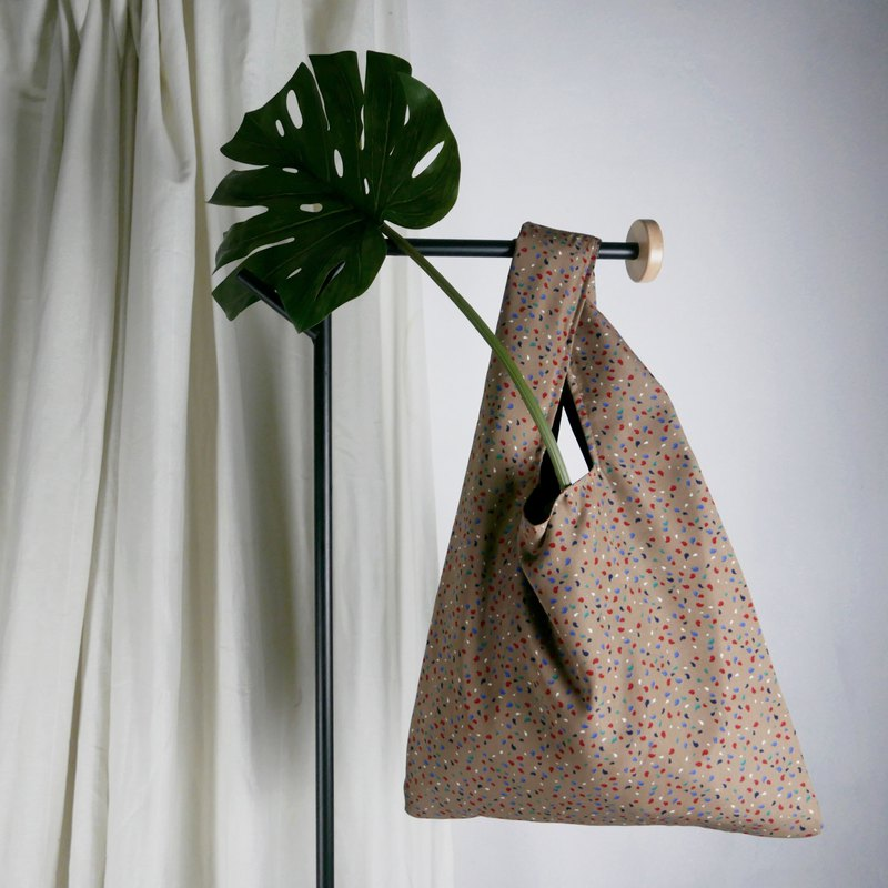 SHOPPING BAG // GRANITO // BROWN