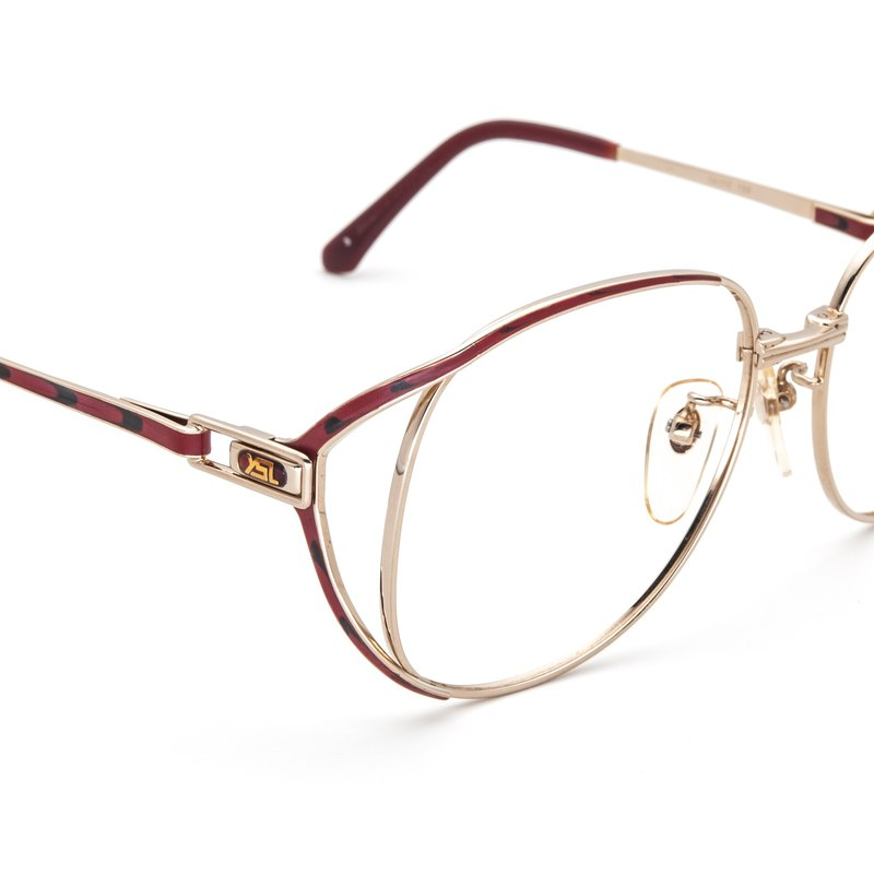 1970's Yves Saint Laurent Premium Eyebrow Frame Antique Glasses