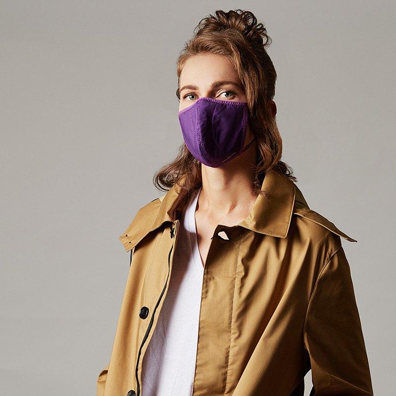 香港 MasKolor PRO   Violet紫罗兰银离子抗菌口罩可重复水洗30次