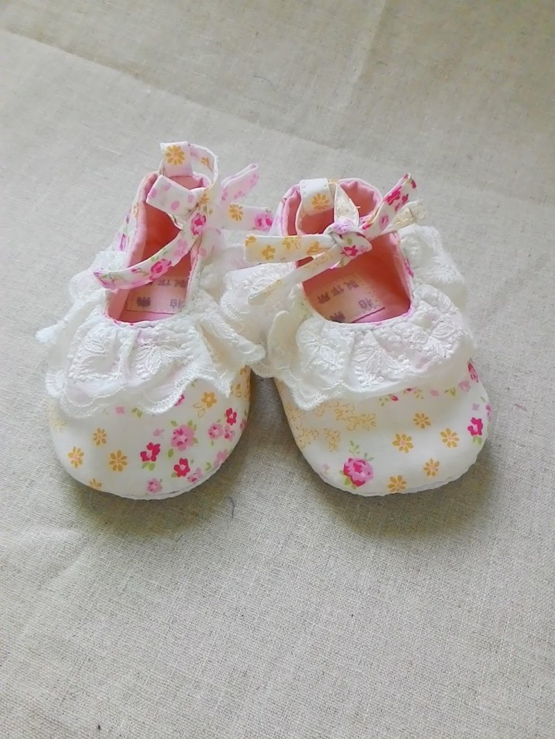 I am a little ballet dancer baby shoes lace straps please ask for a private message