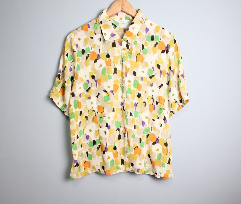 FOAK Vintage Popsicle Block Shirt