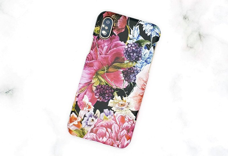 [Flower Blooming] Mobile Hard Case (iphone, Samsung, Sony)