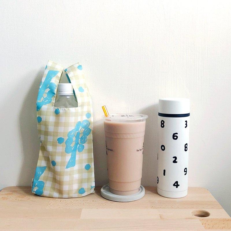 貍拉 =環保飲料提袋= 飲料/食物兩用提袋 -飛鳥與樹