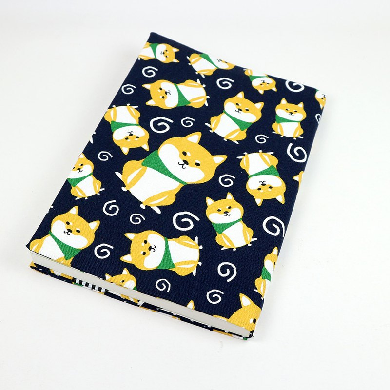 Cloth Book Cloth Book Clothing - Shiba Inu (Blue)