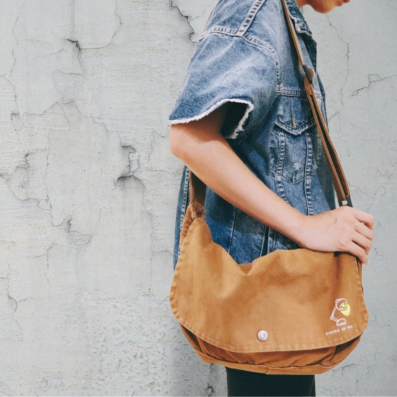 For you to shine / canvas side backpack