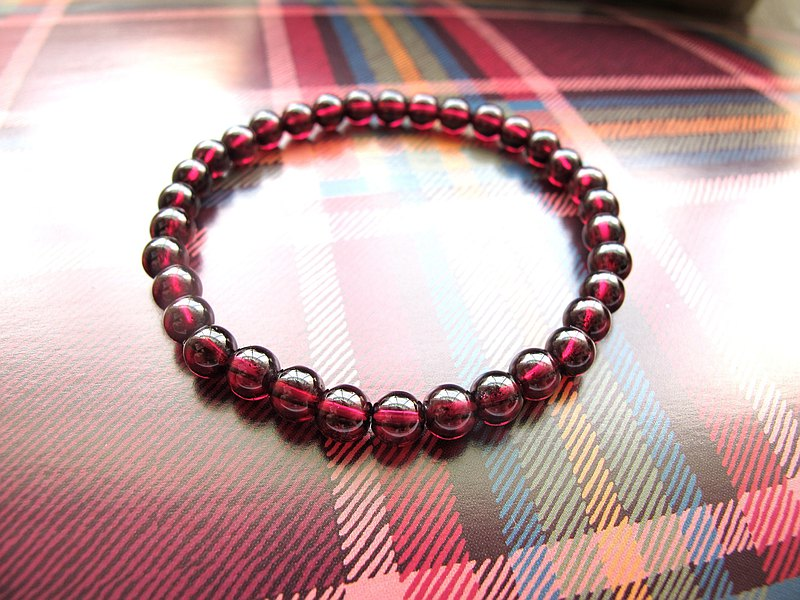 Garnet [Purple Yawu]-Handmade Natural Stone Series