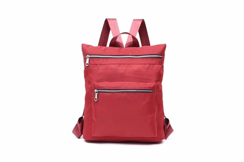 Leisure / Campus / Backpack / Shoulderbag Couple Bag Seven Colors Available-Red