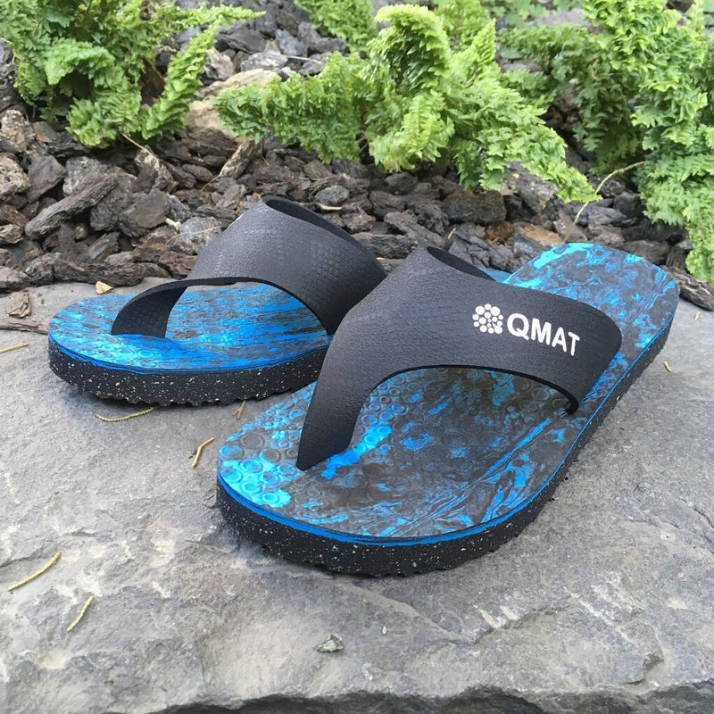 [Qmat-MIT] Yoga / Leisure Slipper Flip-Flops POE Material Men and Women