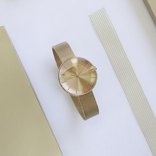 FLOATING 3867 Light Aesthetics Milan Watch - Gold