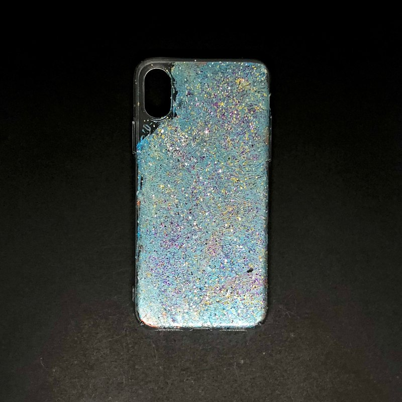 Acrylic Hand Paint Phone Case | iPhone X/XS |  MOMO