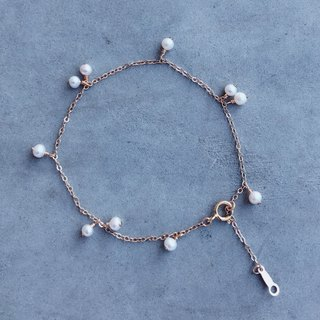 【Loop】‧ Japan pearl 14k earrings bracelet