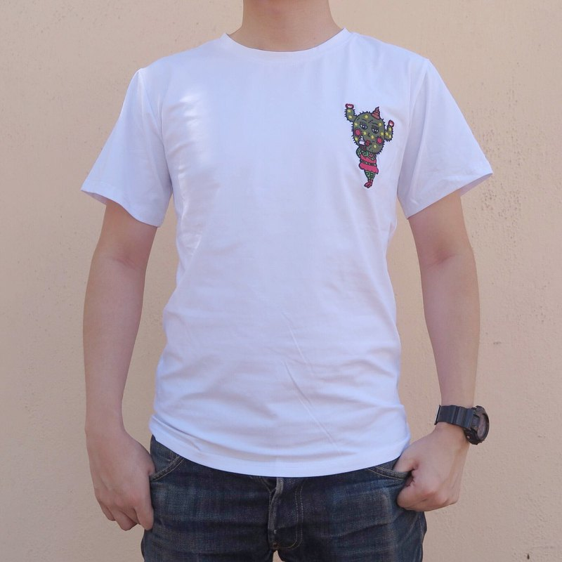 Embroidery T-shirt - Ice Cream Lover