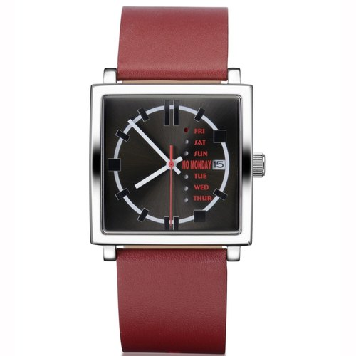 NO Monday NM-1 Collection Designer Table - Red / 35mm