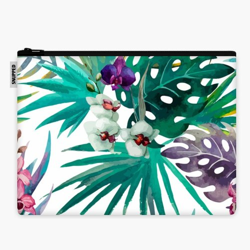SpaceSuit - Document Pouch - Floral Jungle