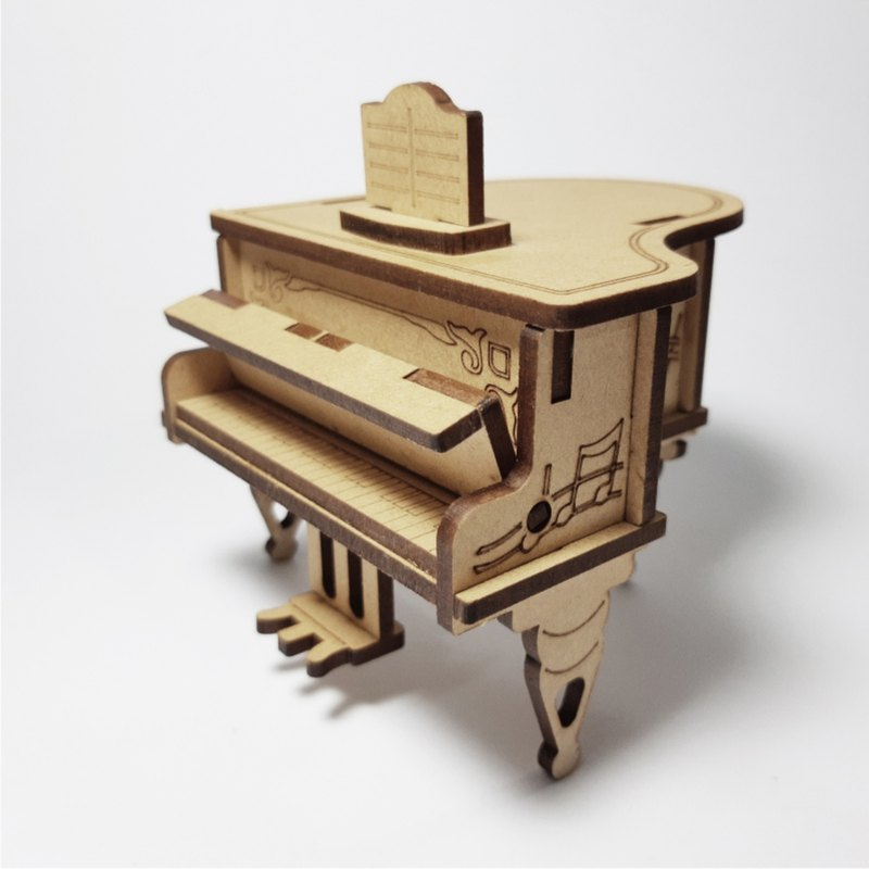 DIY romantic piano music box