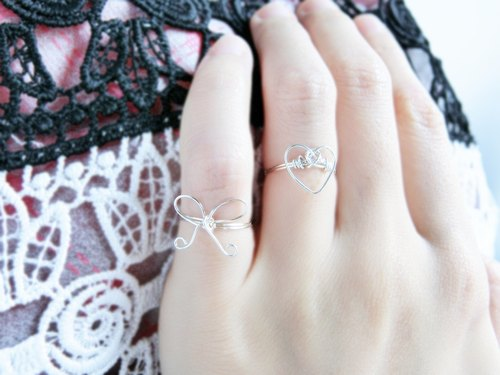 [Small love] weaving rings