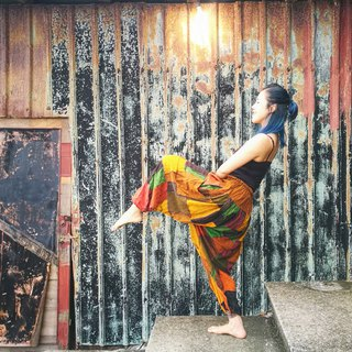 Limited Patchwork - Travel Alibaba Pants - Hot Color