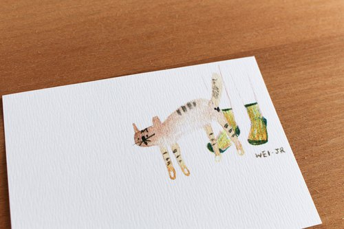 Meow daily small card love spoiled