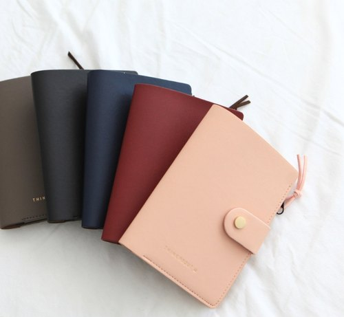 Zipper passport wallet_Pink
