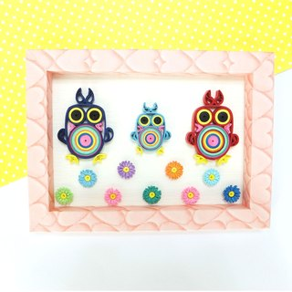 Hand made decorative cards-sweet life owl