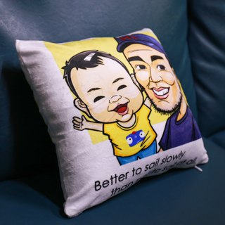 Plus purchase of goods - custom pillow 2 new