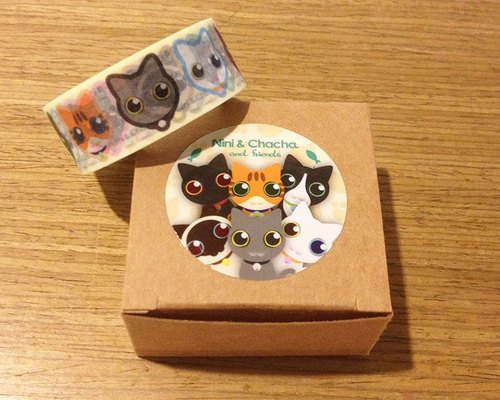 [DRAWOHS] NiniChacha kitty paper tape
