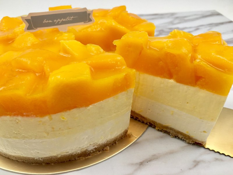 Summer Mango Cheesecake
