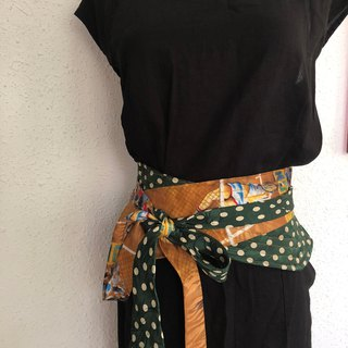 Up-cycle vintage belt