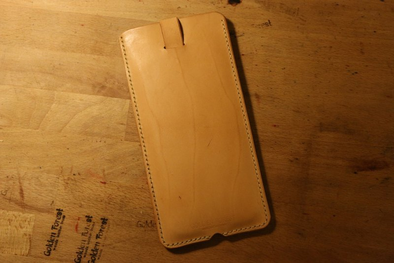 Golden Forest handmade leather original leather classic color iphone6 ​​plus mobile phone bag