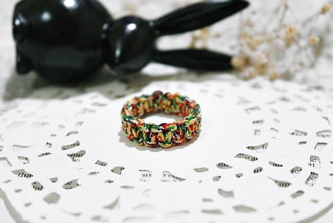 <5 color line X5 color line>-ring version-