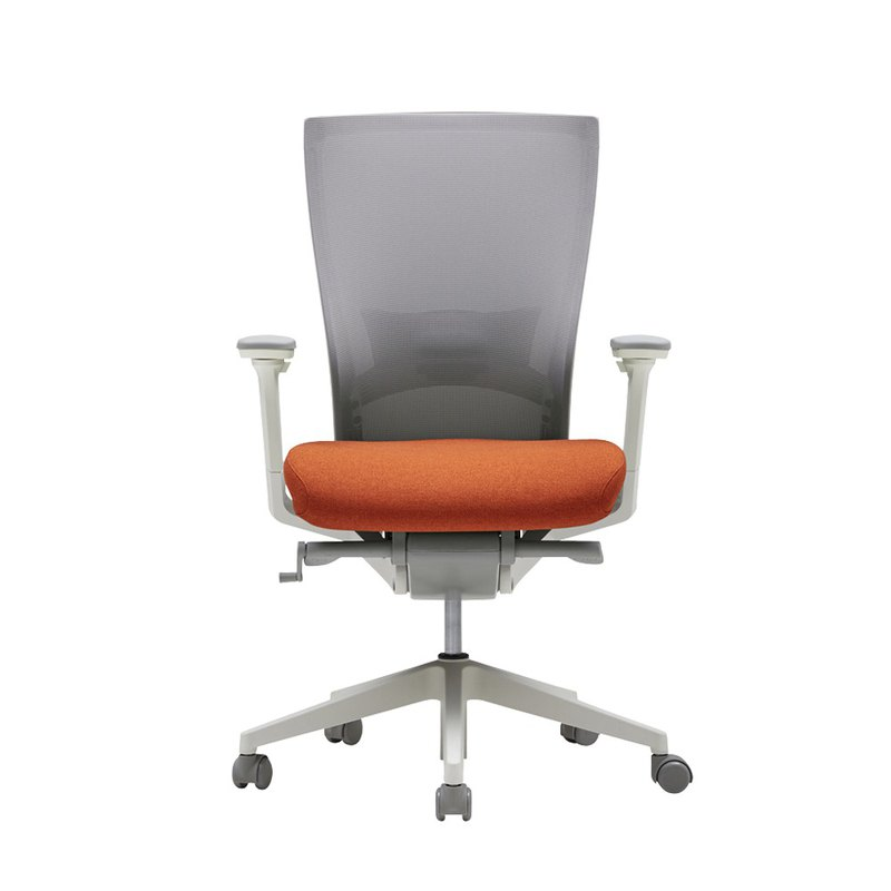 [iloom] i-Fit Fashion Aesthetics Office Chair (Coral Orange)
