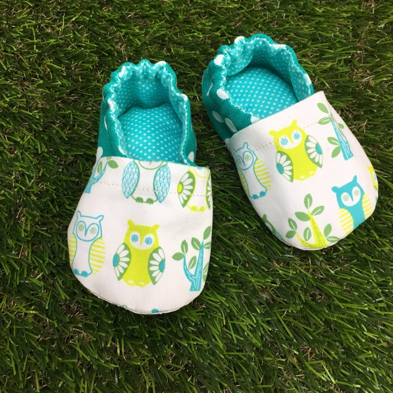 Owl toddler - baby shoes