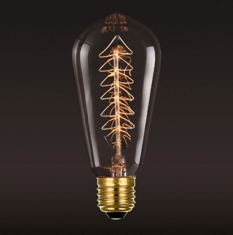 Christmas limited ‧ Edison tungsten light bulb ‧ Christmas tree light bulb │ Good Form‧ good shape