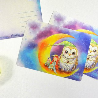 Owl Goodnight Postcard