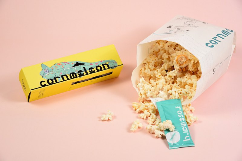 Stem popcorn | Medium corn box (Italian rosemary flavor)
